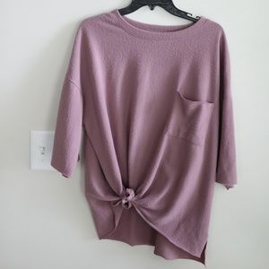 Altar'd State Purple Top - Large